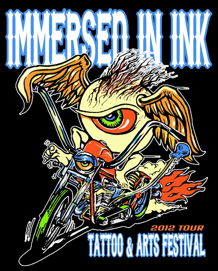 Immersed In Ink Tour - Tinley Park 18 April 2014
