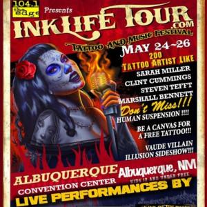2014 Ink Life Tour Albuquerque Tattoo Convention