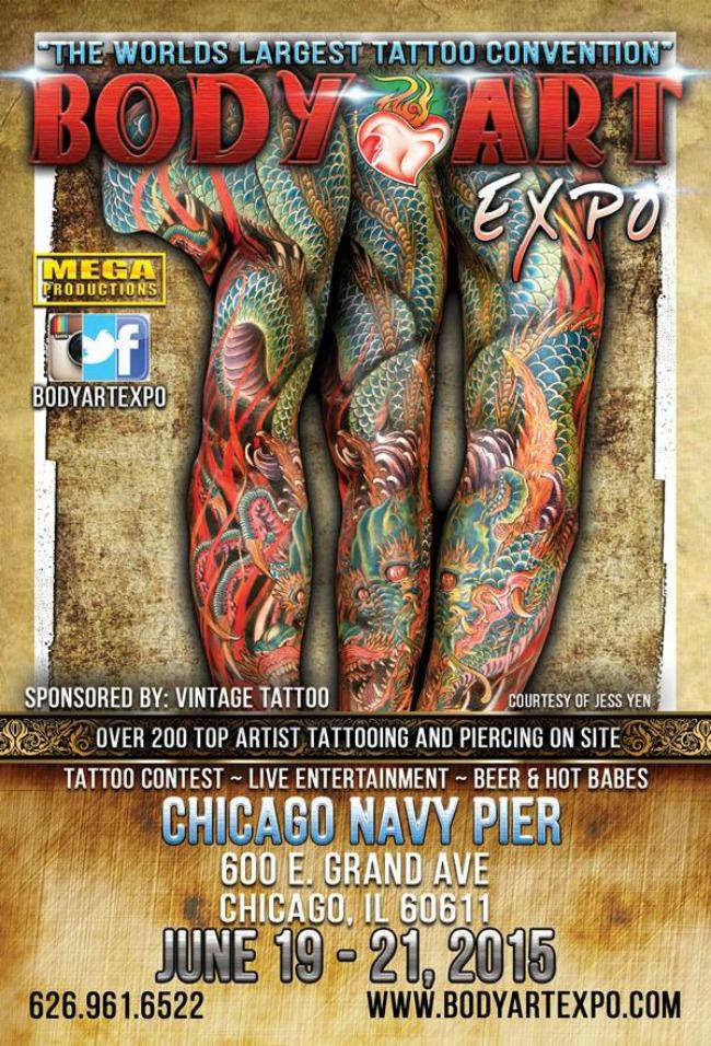 2015 Body Art Expo - Chicago Show