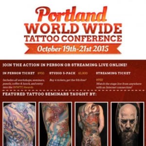 2015 Worldwide Tattoo Conference