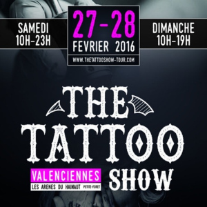 2016 The Tattoo Show Valenciennes