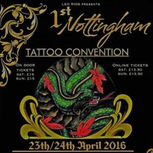 2016 Nottingham International Tattoo Convention