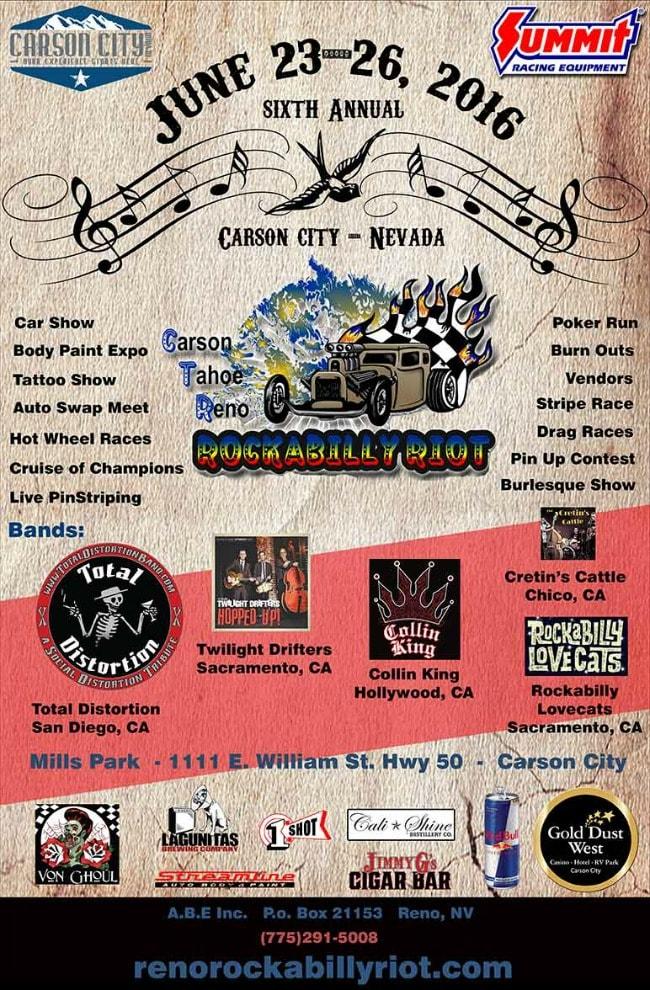 Reno Rockabilly Riot 17 June 2021