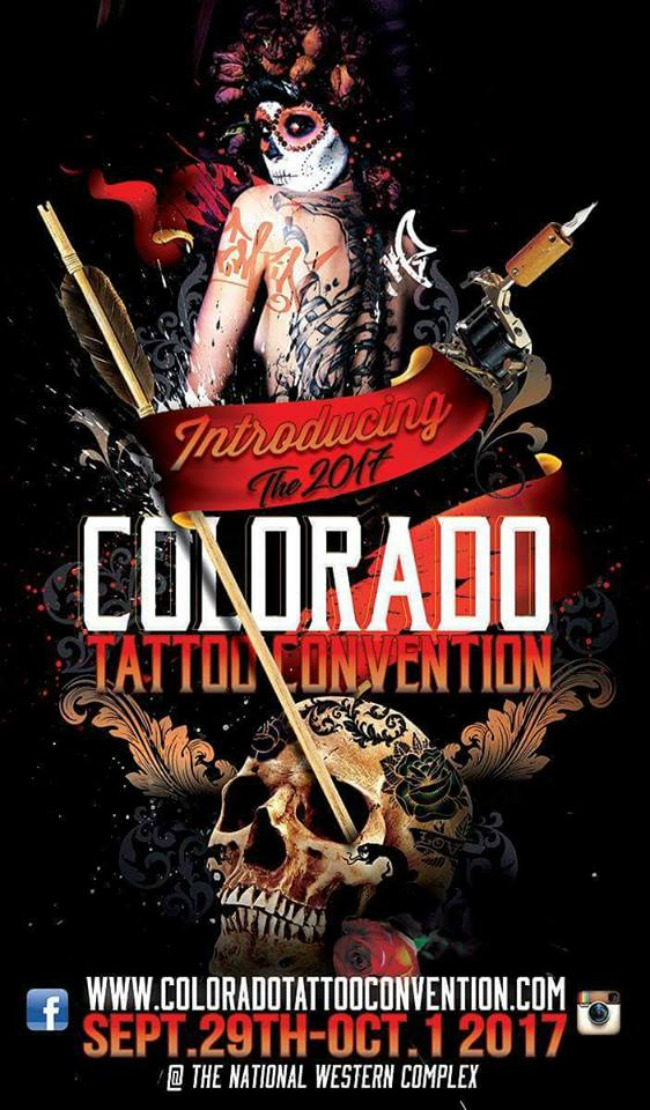 Colorado Tattoo Conventions 2017 Poster