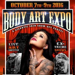 2016 Body Art Expo Tucson Show