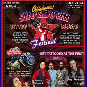 2017 Oklahoma Tattoo Showdown Festival
