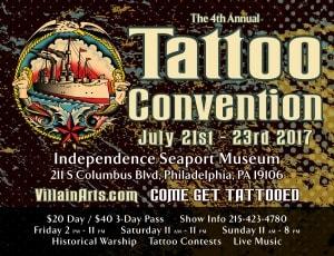 Warship Olympia Tattoo Arts Convention 21 July 2017