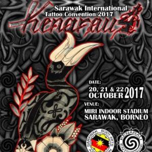 2017 Sarawak Tattoo Expo Kenarau