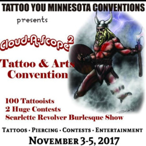 2017 Cloud-A-Scope Tattoo and Arts Convention