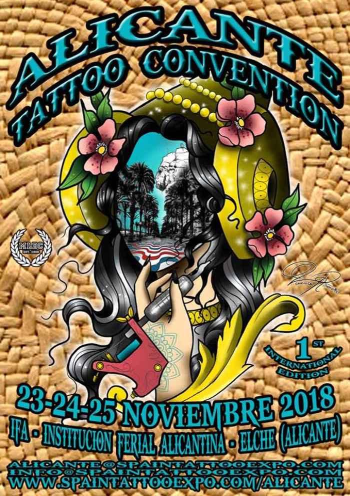 Alicante Tattoo Convention 2018