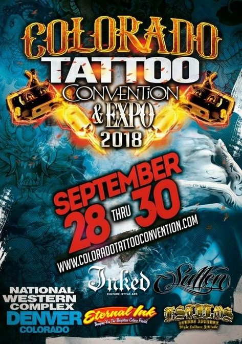 Colorado Tattoo Conventions 2018 Poster