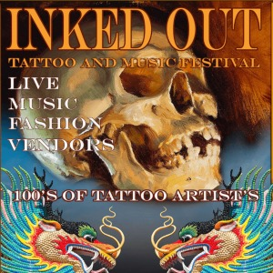 Inked Out Tattoo Convention 2019 Event Poster