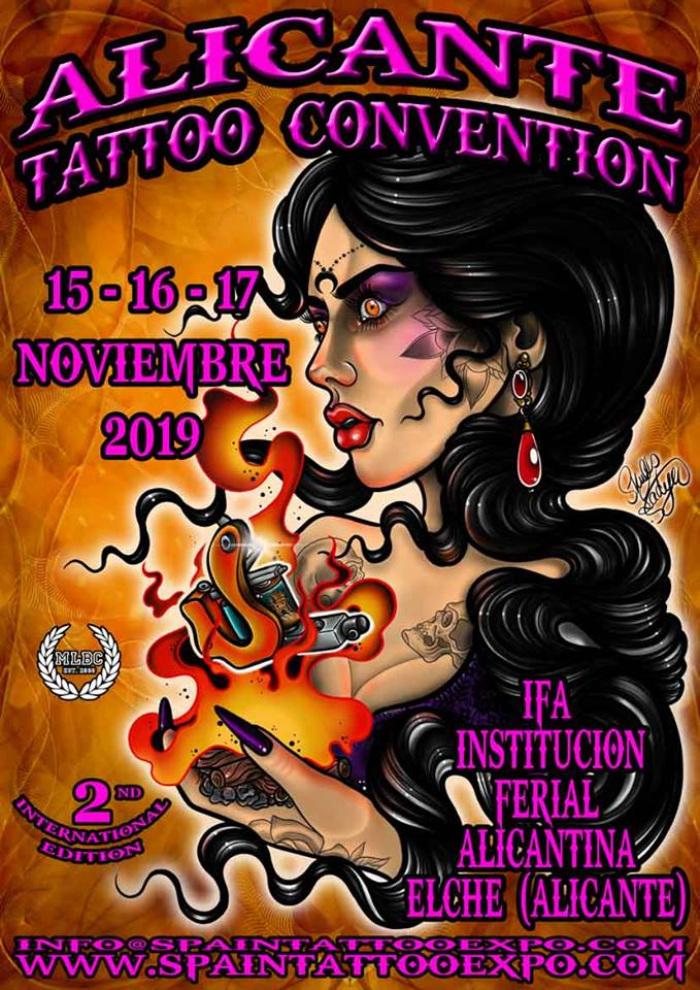 2019 2ª Alicante Tattoo Convention