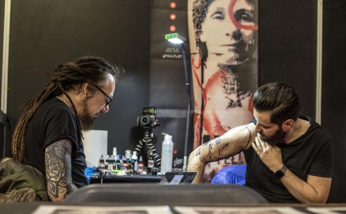 Paul Talbot World Tattoo Events