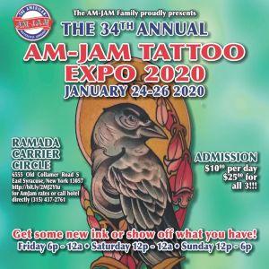 34th AM-JAM Tattoo Expo
