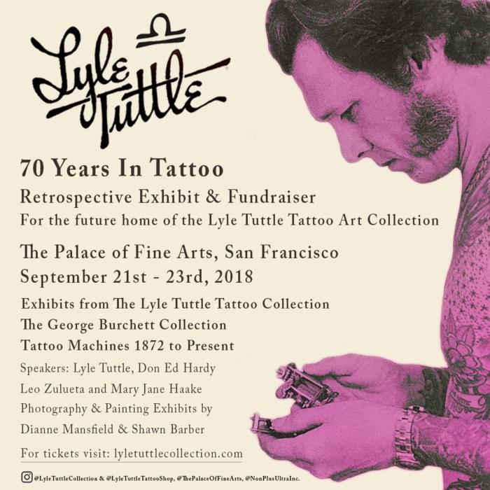 Lyle Tuttle 25 March 2019
