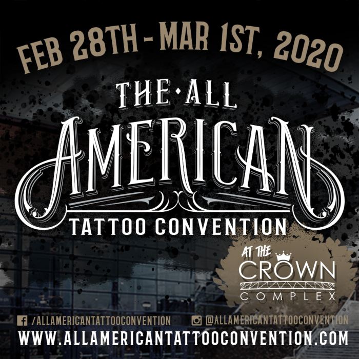 All American Tattoo Convention February 2020 United States