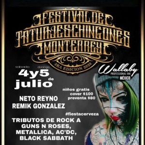 Monterrey Tattoo Ink Expo