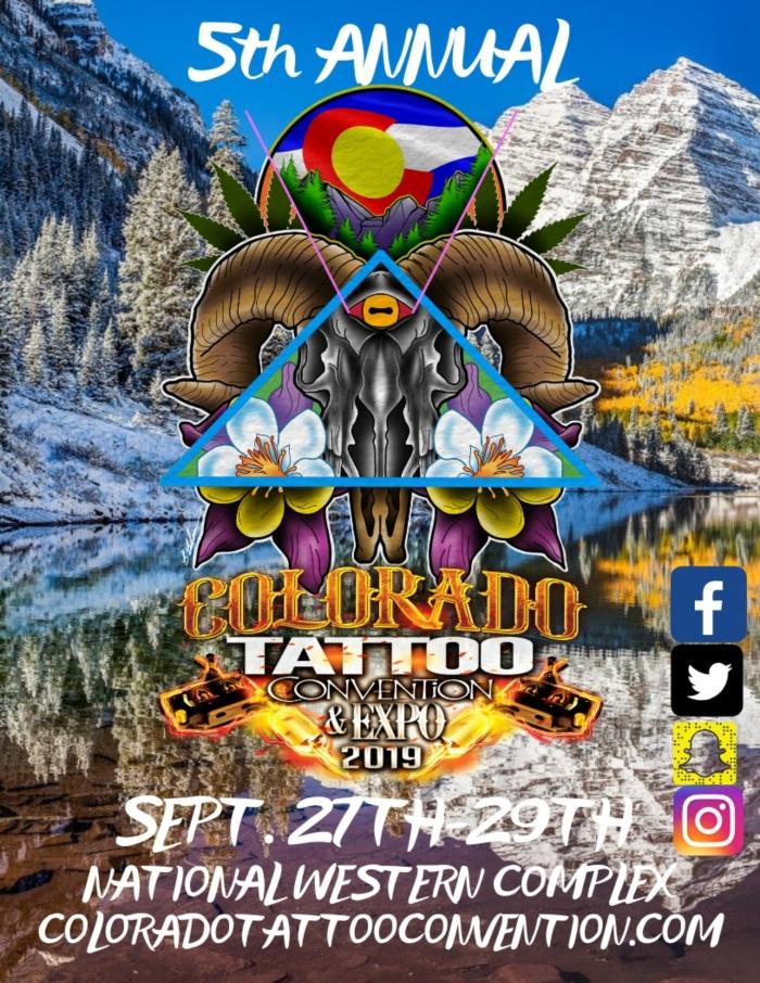 Colorado Tattoo Convention 2019 Poster