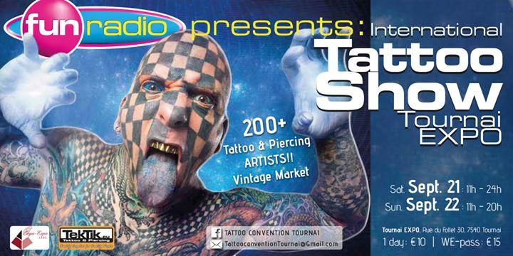 Matt Gone Tournai Tattoo Show