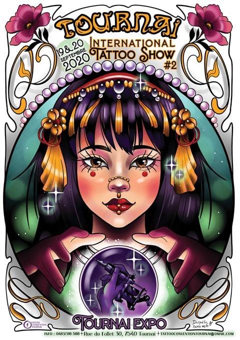 Tournai Tattoo Show 19 September 2020