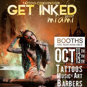 2019 Get Inked Miami Tattoo Convention