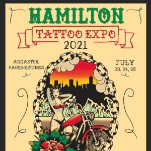 Hamilton tattoo expo 2021 poster min
