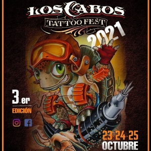 Los Cabos Tattoo Fest 2021 poster min