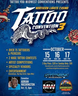 Northern Lights Tattoo Show 15 October 2021