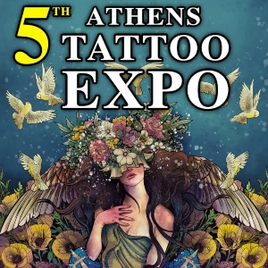 Athens Tattoo Expo 2020 Poster min