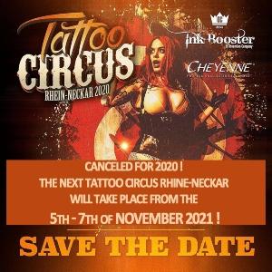 Tattoo Circus Rhein-Neckar 5 November 2021