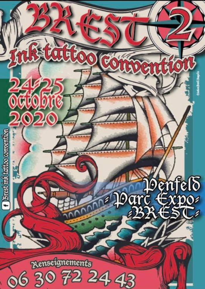Brest Ink Tattoo Convention October 2020 France