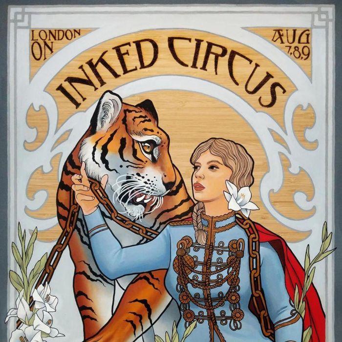 Inked Circus Tattoo Expo London 2020