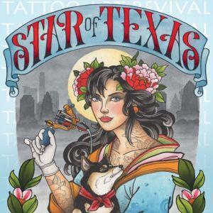 Star of Texas Tattoo Art 2020