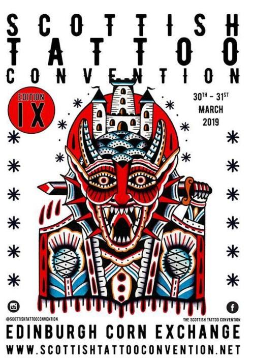Scottish Tattoo Convention 30 March 2019