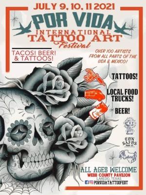 Por Vida Tattoo Art Festival 9 July 2021