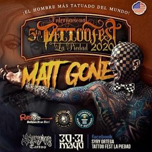 Tattoo Fest La Piedad 2020 Featured