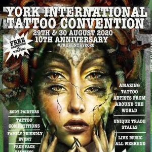 York Tattoo Convention 2020 New Days min