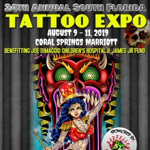 South Florida Tattoo Expo 9 August 2019