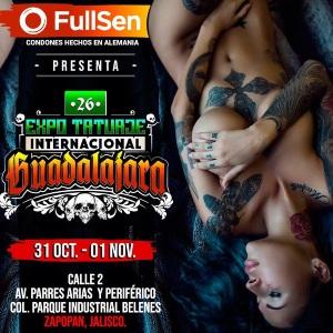 26. Expo Tattoo Guadalajara 31 October 2020