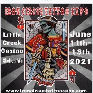 Iron Circus Tattoo Expo 11 June 2021