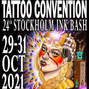 Stockholm Ink Bash Tattoo Convention 29 October 2021