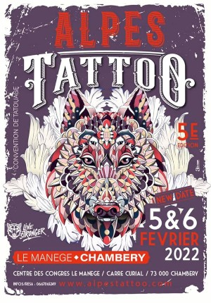 Alpes Tattoo Convention 5 February 2022