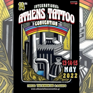 Athens Tattoo Convention 13 May 2022