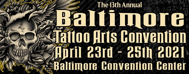 Baltimore Tattoo Arts Convention April 2021 United States He portrays sandor in breaking bad. baltimore tattoo arts convention
