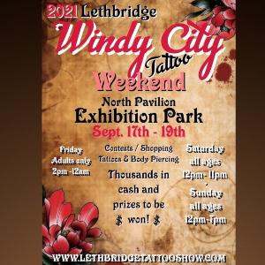 Lethbridge Tattoo Weekend 17 September 2021