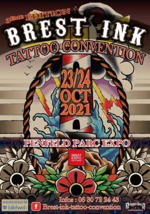 Brest Ink Tattoo Convention 23 October 2021