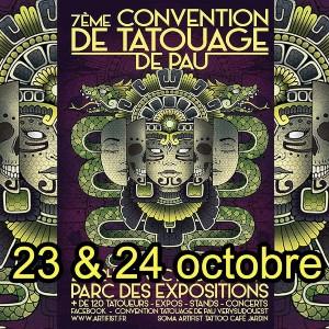 Convention de Tatouage de Pau 23 October 2021