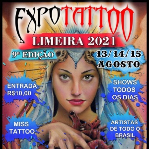 Expo Tattoo Limeira 2021 poster min