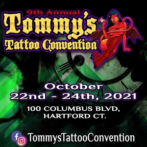 Tommy's Tattoo Convention 22 October 2021